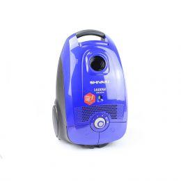 Пылесос электрический бытовой SHIVAKI VCB 0416 синий