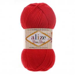 Alize Baby best 56 (красный), 100гр. 240м. 90%акрил, 10% бамбук
