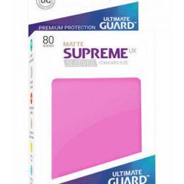 Ultimate Guard - Розовые матовые протекторы 80 штук в коробочке