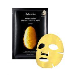 JMSOLUTION Water Luminous Golden Cocoon Mask 45g Тканевая маска с золотым шелкопрядом