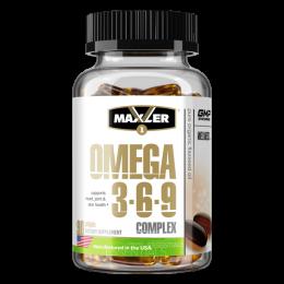 MAXLER, Omega 369 complex, банка 90капс
