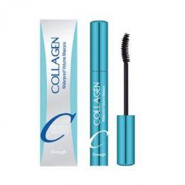 ENOUGH Collagen waterproof volume mascara 9ml Водостойкая тушь с коллагеном