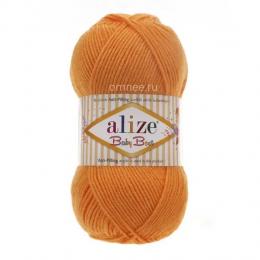 Alize Baby best (336 оранжевый), 100гр. 240м. 90%акрил, 10% бамбук