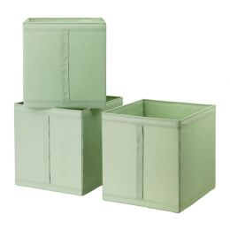 СКУББ Коробка, светло-зеленый, 31 х 34 х 33 см, 1 шт