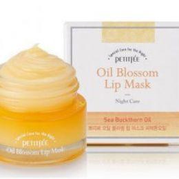 Petitfee ночная маска для губ c маслом облепихи 15 мл.
