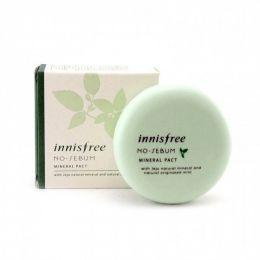 Innisfree Бесцветная компактная пудра для жирной кожи No Sebum Mineral Pact