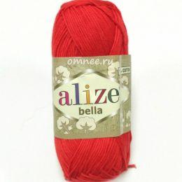 Alize Bella 56, 100% хлопок, 50 г. 180 м.