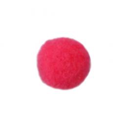 Помпоны, 13 мм, уп. 25шт. цв.: 21 т.розовый