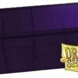 Пластиковая коробочка Dragon Shield с 4 секциями фиолетовая