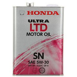 Моторное масло Ultra LTD SM 5W30 4L (минеральное) 08213-99904