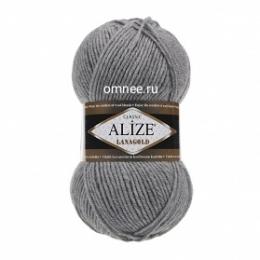 Alize Lanagold 21, 49% шерсть, 51 % акрил, 100 гр. 240 м.