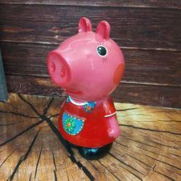 Копилка свинка Пеппа девочка