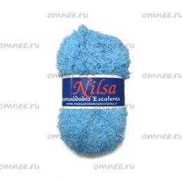 Пряжа плюшевая Nilsa (Fashion Baby Soft), цв.: 9 голубой