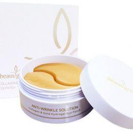 BeauuGreen Collagen & Gold Hydrogel Eye Patch Гидрогелевые патчи для глаз c коллагеном и коллоидным золотом