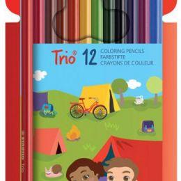 Набор цветных карандашей Trio 12 цв. Stabilo.