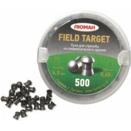 Пули Люман Field target 4,5мм 0,68гр (500шт)