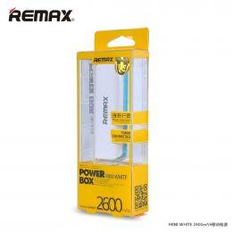 Remax power box 2600 mah