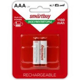 Акамуляторные батарейки Smartbuy AAA 1100*2 (блистер 2шт)