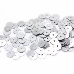 Пайетки плоские 1111 Metallizzati 4 мм 3 гр (Италия)