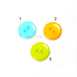 Пуговицы пластиковые,1 см, цв.: асортимент