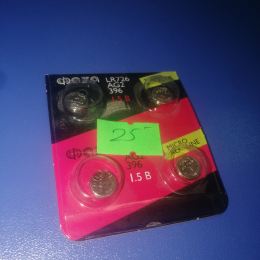 Батарейка Фaza LR726, AG2, 396