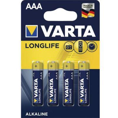 Батарейки Varta Longlife ААA LR03 (4ШТ)