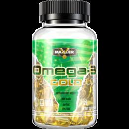 MAXLER, Omega-3 gold, банка 120капс