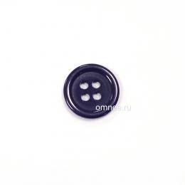 Пуговица классическая 12 мм, цв.: баклажан, арт. 1375710, шт.