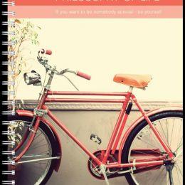 Тетрадь общая 96л,кл,А5,Bicycles,спираль(N824) штр. 4690661033590