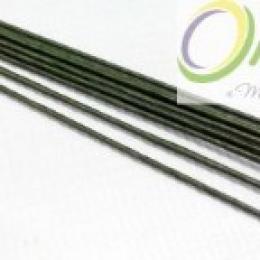 Проволока д/флористики d-0,9мм, 60 см. зеленая