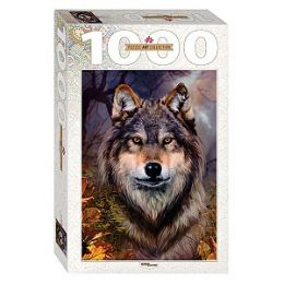 пазлы в ассорт. 1000 эл. Волк.