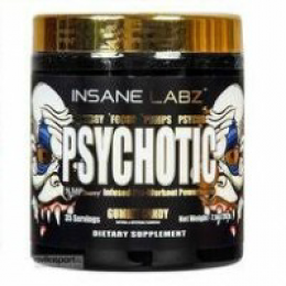 INSANE LABZ Psychotic, банка 200гр, Orange
