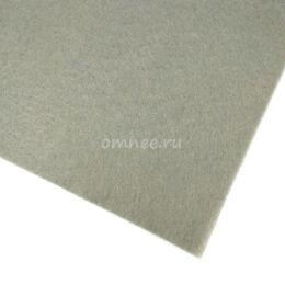 Фетр листовой мягкий 1,2 мм, 20х30 см, цв.: 648 св.серый