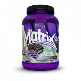 SYNTRAX Matrix 2.0 protein, банка 907г. Mint cookies