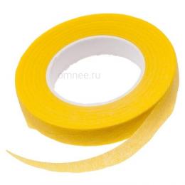 Тейп лента 10 мм/ 27,4 м. цв.: жёлтый