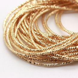 Трунцал, цвет золотой Pale Gold, 0,7 мм, 5 гр (Индия)