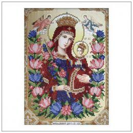 """Т-0344 """"Ікона Божої Матері Нев'янучий Цвіт"""""""