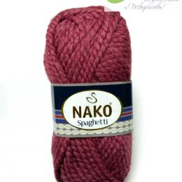 Nako Spaghetti 327, 25% Шерсть, 75% Акрил 100гр. 60м.