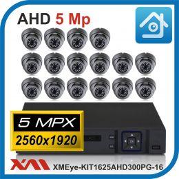 Комплект видеонаблюдения на 16 камер XMEye-KIT1625AHD300PG-16.
