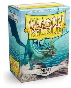 Протекторы Dragon Shield матовые Mint (100 шт.)