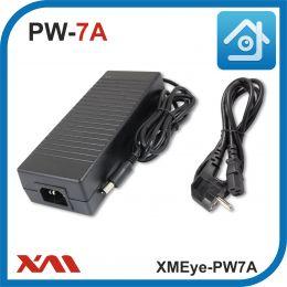 XMEye-PW7A. 12 Вольт. 7 Ампер. Импульсный блок питания для камер видеонаблюдения.