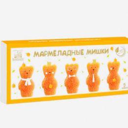 Мармеладные мишки. Натуральный абрикосовый мармелад, 155г