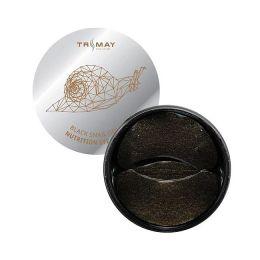 Trimay Black Snail Gold Nutrition Eye Patch 60 шт./Патчи для век с муцином черной улитки и золотом.