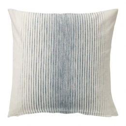 ИСПИГГ Чехол на подушку, синий/естественный 50*50 см