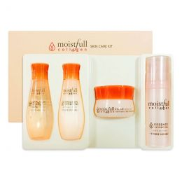 Etude House Мини-набор средств по уходу за кожей лица на основе морского коллагена Moistfull Collagen Skin Care Kit
