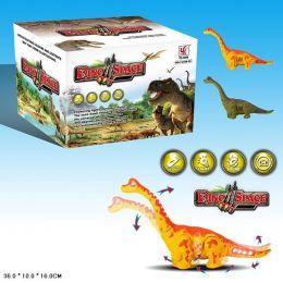 Інтерактивне тварина YJ388-38 (96шт / 2) динозавр, світло, звук, ходить, в коробці 36 * 10 * 16см