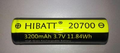 акб HIBATT IMR20700 3200 мАч 3.7 В 40A