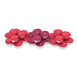 СИНЛИГ Свеча греющая ароматическая, Красные садовые ягоды, красный, 30 шт