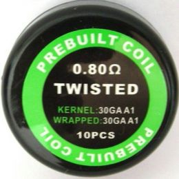 Готовый Коил: Twisted Kanthal wire 30AWG*2 0.8oHm