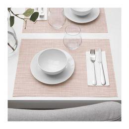СНУББИГ Салфетка под приборы, светло-розовый 45 х 33 см
